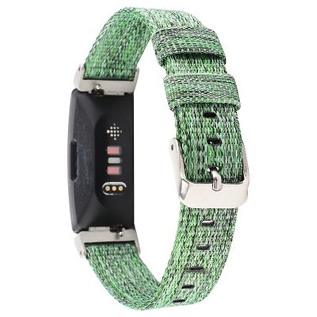 ремешок для часов для Fitbit Inspire hr / FitBit Inspire спортивная группа FitBit / стильная пряжка с нейлоновым ремешком