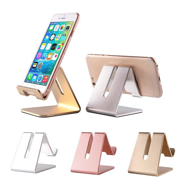 Accroche Support Téléphone Lit Bureau iPad Tablette Support Ajustable Ajustable Nouveau design Aluminium Accessoire de Téléphone iPhone 12 11 Pro Xs Xs Max Xr X 8 Samsung Glaxy S21 S20 Note20