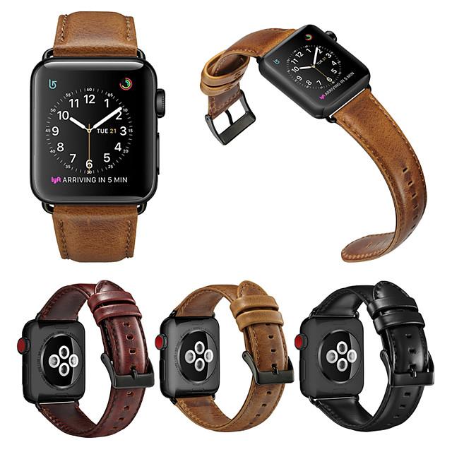 Luxus Leder Uhrenarmband für Apple Watch Serie 5/4/3/2/1 austauschbares Armband Armband Armband