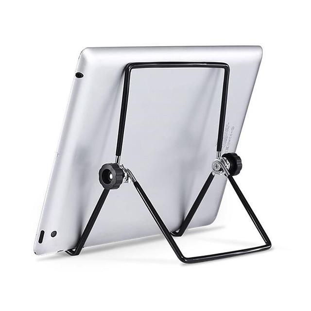 מחזיק שולחן עבודה מתקפל לעמוד מתכת מתקפל מתכוונן בעל שולחן העבודה הר קירור מהיר אוניברסלי עבור ipad iphone