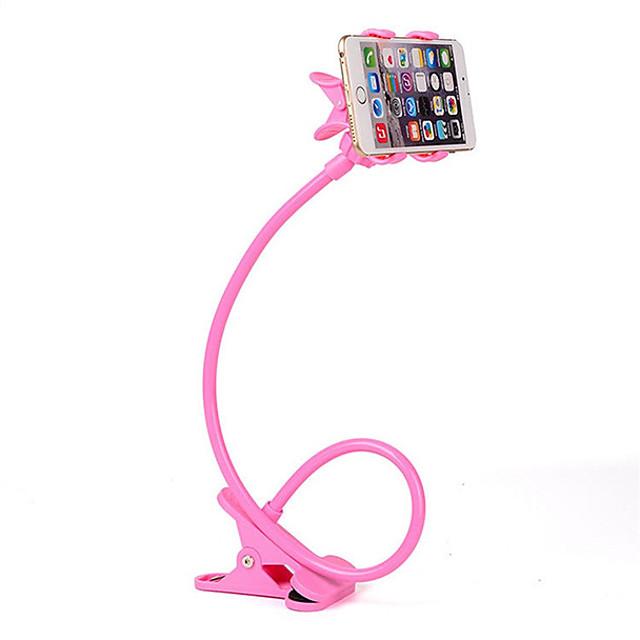 kvinner menn lat brakett fleksibel 360 klipp mobiltelefon holder lat seng skrivebord brakett montering stativ gym kontor