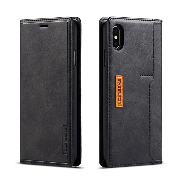 Flip pu lederen case voor iphone 11 pro max magnetische adsorptie iphone xs max x xs xr 7 8 plus mobiele telefoon beschermhoes