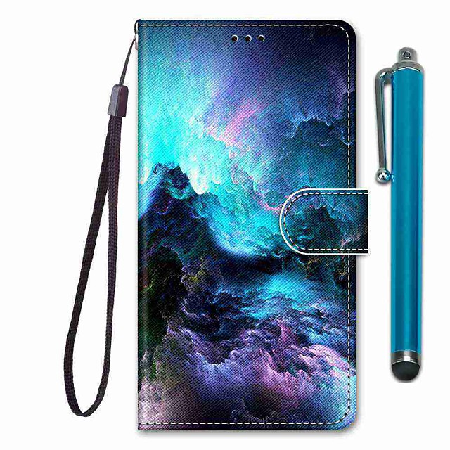 Case For Apple iPhone 11 / iPhone 11 Pro / iPhone 11 Pro Max Wallet / Card Holder / with Stand Full Body Cases Scenery PU Leather / TPU