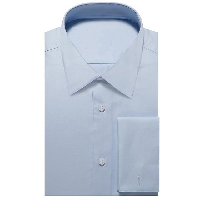 la chemise oxford bleue claire