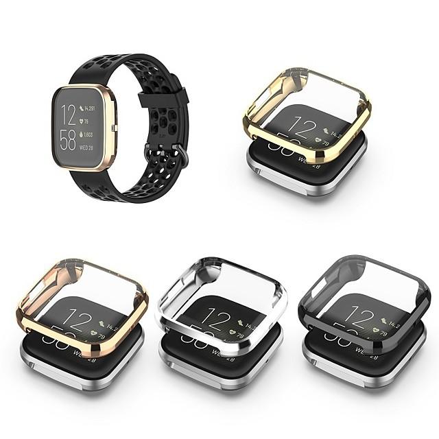 מקרה עם הלהקה עבור פיטביט פיטביט להיפך 2 TPU מגן מסך מארז שעונים חכמים תאימות