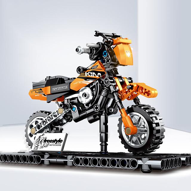 Blocs de Construction 209 pcs Moto compatible ABS + PC Legoing Simulation Moto Tous Jouet Cadeau / Enfant