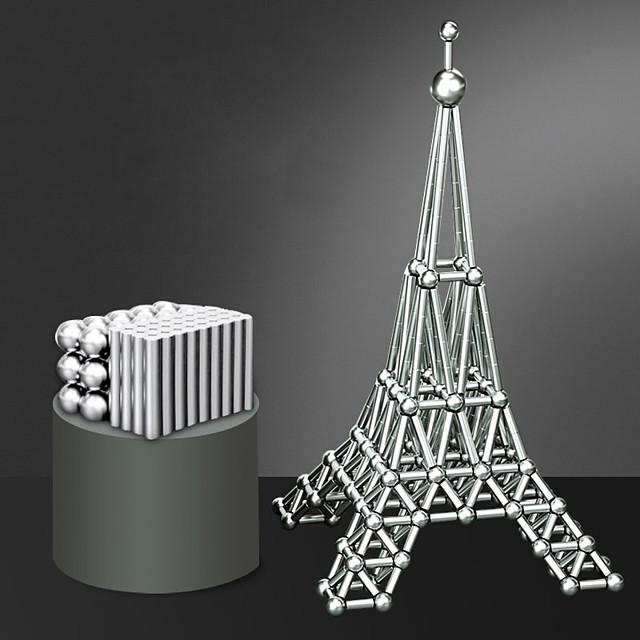 63 pcs 8mm Jucării Magnet bile magnetice Magnetice magnetice Lego Super Strong pământuri rare magneți Magnet Neodymium Puzzle cub Adulți Băieți Fete Jucarii Cadou