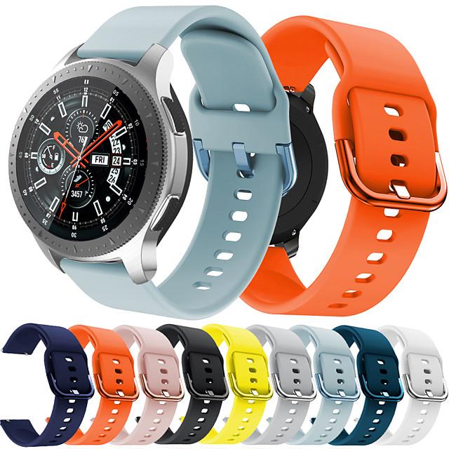 Urrem for Samsung Galaxy Watch 46 Samsung Galaxy Sportsrem Silikone Håndledsrem