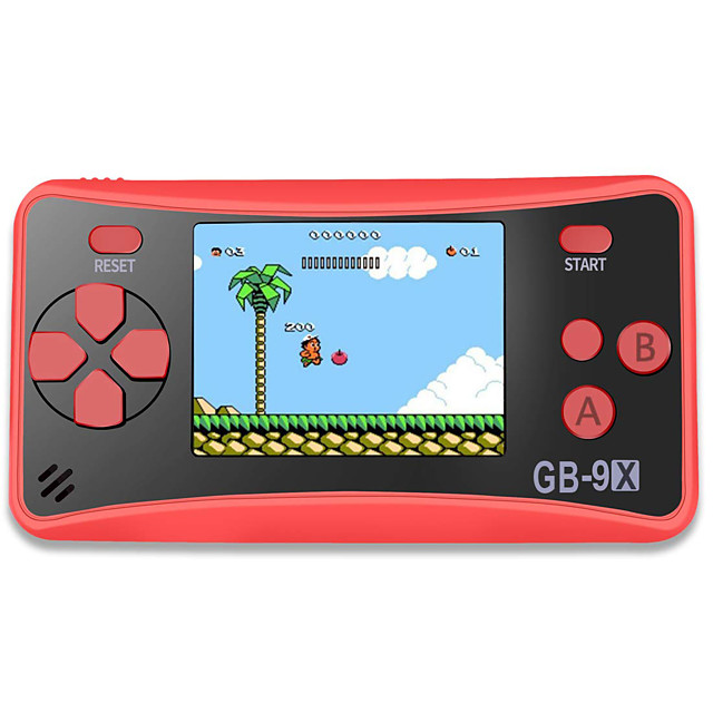 GB-9X Game Console Built in 168 pcs Games 2.5 inch inch Portable / Cool