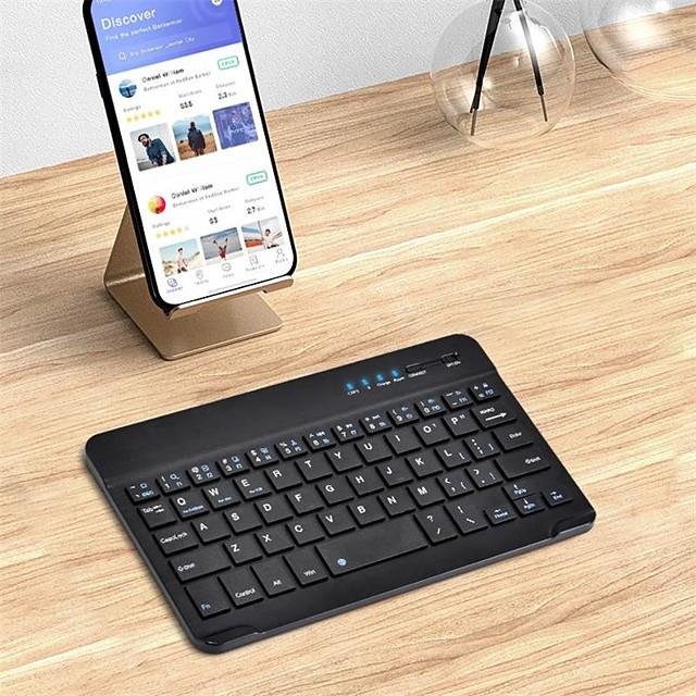 Bluetooth tastiera ufficio Effetto ghiaccio / Nuovo design Per Sistema operativo Android / iOS / MAC Bluetooth 3.0