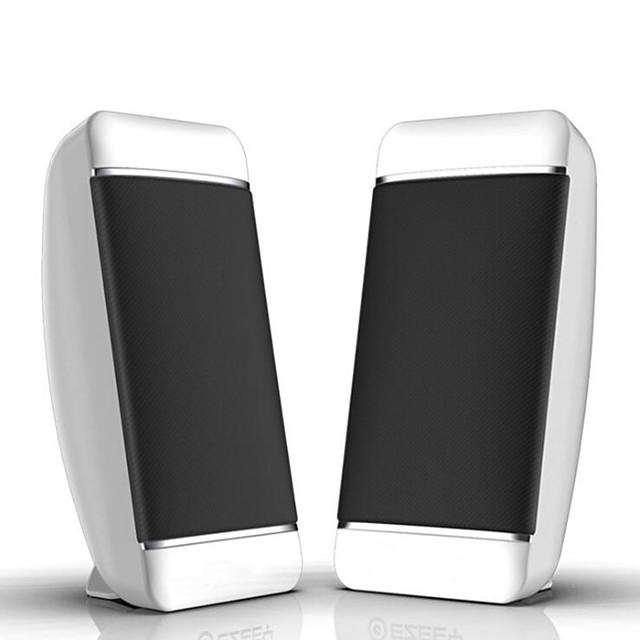 s4 Haut-parleur multimédia Ordinateur haut-parleur Avec Fil Mini Portable Fonction de réglage des basses Haut-parleur Pour Polycarbonate Ordinateur portable Téléphone portable