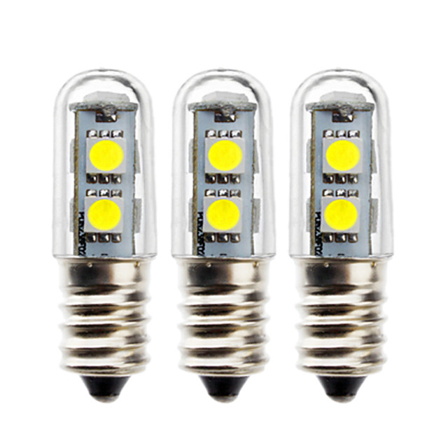3pcs 1 W Bulb LED Glob 50 lm E14 5050 LED-uri de margele SMD 5050 Decorativ Alb Cald Alb 180-240 V