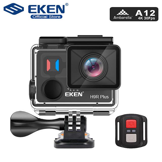 Eken EKEN H9R Plus 480p / 720p / 1080p Langaton / Full HD Auto DVR 170 astetta Laajakulma CMOS 2 inch LCD Dash Cam kanssa WIFI / Pimeänäkö / Jatkuva tallennus Automaattinen tallennin