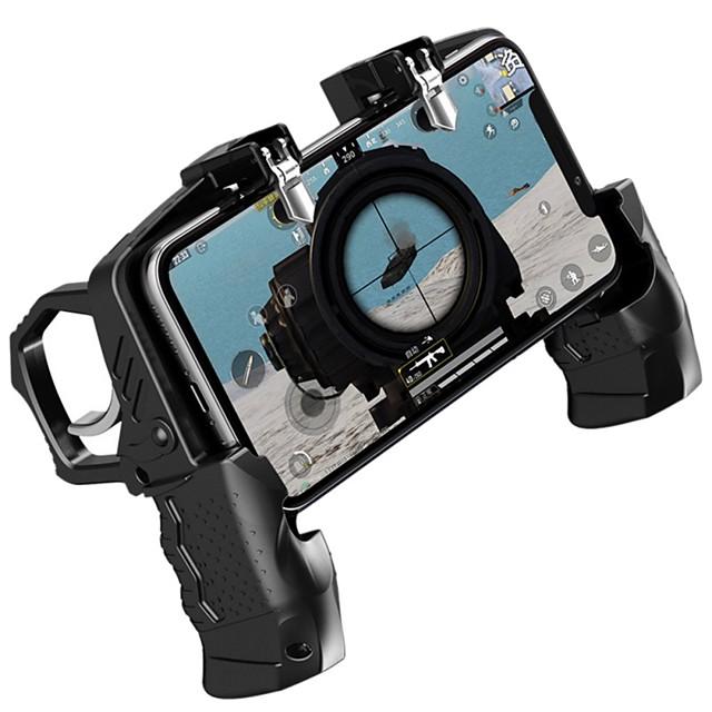 K21 contrôleur de jeu manette de jeu joystick déclencheur en métal auxiliaire bouton de prise de vue rapide poignée ergonomique pour pubg téléphone mobile universel
