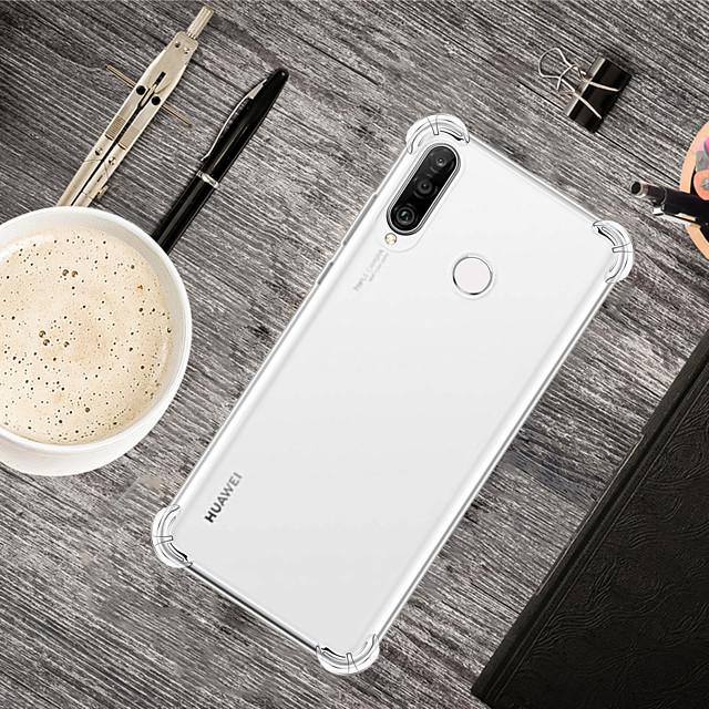 Coque Pour Huawei Huawei P20 / Huawei P20 Pro / Huawei P20 lite Antichoc Coque Transparente TPU
