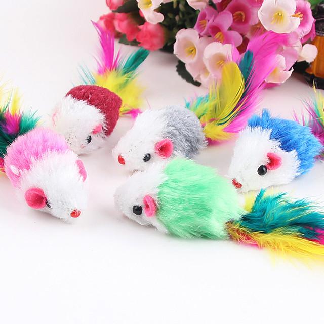 Jucării pt Pisici Pisici Pisicuță Animale de Companie  Jucarii 1 piesă Mouse textil Cadou