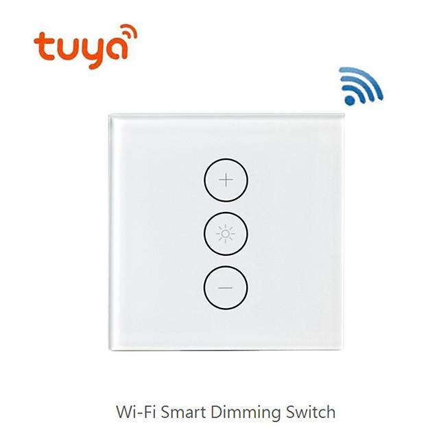 스마트 디밍 / 스위치 지원 / 모바일 앱 원격 제어 / 지원 alexa 음성 제어 / 와이파이 디밍 스위치 거실 / 연구 / 침실 led 빛 / 크리 에이 티브 / 무선 사용 무선
