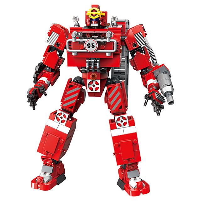 Bouwblokken Educatief speelgoed Transformatie auto speelgoed Transformer speelgoed 779 pcs Tekenfilm verenigbaar Plastic schelp Legoing Simulatie Allemaal Speeltjes Geschenk / Kinderen