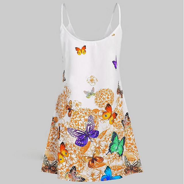 Women's Sundress Short Mini Dress Blue Red Yellow Sleeveless Geometric Spring & Summer Elegant 2021 L XL XXL 3XL 4XL 5XL