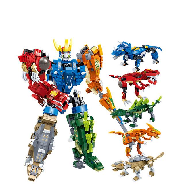Blocs de Construction 1 pcs Tyrannosaurus Rex compatible Carcasse de plastique Legoing Transformable Focus Toy A Faire Soi-Même Tous Jouet Cadeau