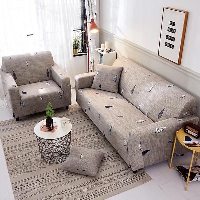 소파 커버 스트레치 저렴한 슬립 커버 부드러운 내구성 소파 커버 1 조각 패브릭 빨 가구 보호대 안락 의자 / 이인용 의자 / 3 인용 / 4 인용 / l 형 소파