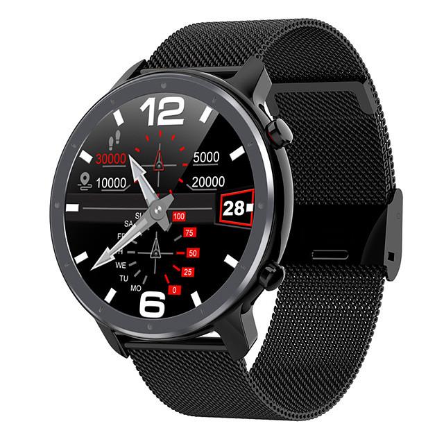 L11 Муж. Смарт Часы Bluetooth Водонепроницаемый Пульсомер Измерение кровяного давления Регистрация дистанции Информация