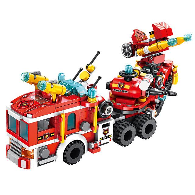 Blocs de Construction 557 pcs Véhicules compatible ABS + PC Legoing Simulation Véhicule de Pompier Tous Jouet Cadeau / Enfant