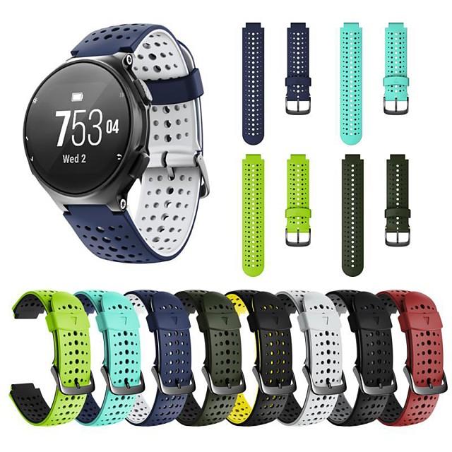 Uhrenarmband für Forerunner 735 / Forerunner 630 / Forerunner 620 Garmin Moderne Schnalle Silikon Handschlaufe / Forerunner 235 / Forerunner 230 / Forerunner 220