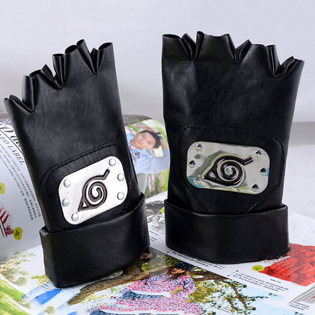 Γάντια Εμπνευσμένη από Naruto Το μάτι θυμίαμα του Naruto Anime Αξεσουάρ για Στολές Ηρώων Καμβάς Όλα Αποκριάτικες Στολές