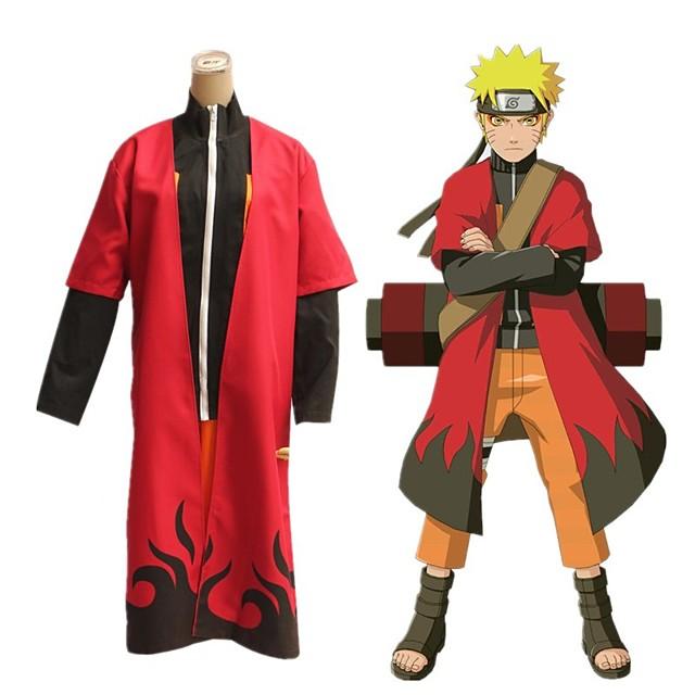 Inspirado por Naruto Uzumaki Boruto Animé Disfraces de cosplay Japonés Accesorios Capa Para Hombre Mujer