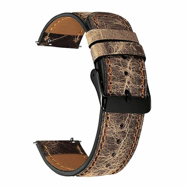 ремешок из натуральной кожи для наручных часов samsung s3 наручные часы huawei gt 22 мм