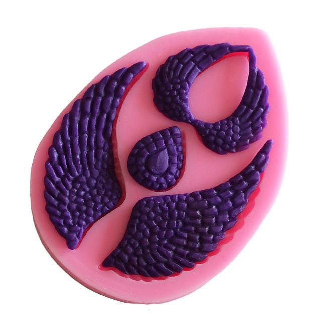 diy silikon kake vingekake dekorasjon fondant mold bakervarer 1 stk