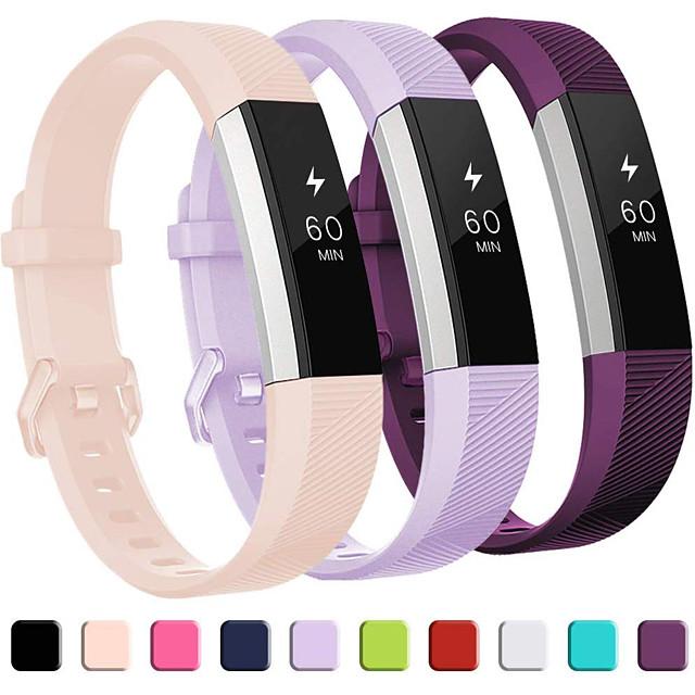 Klokkerem til Fitbit Alta HR / Fitbit Ace / Fitbit Ace 2 Fitbit Sportsrem Silikon Håndleddsrem