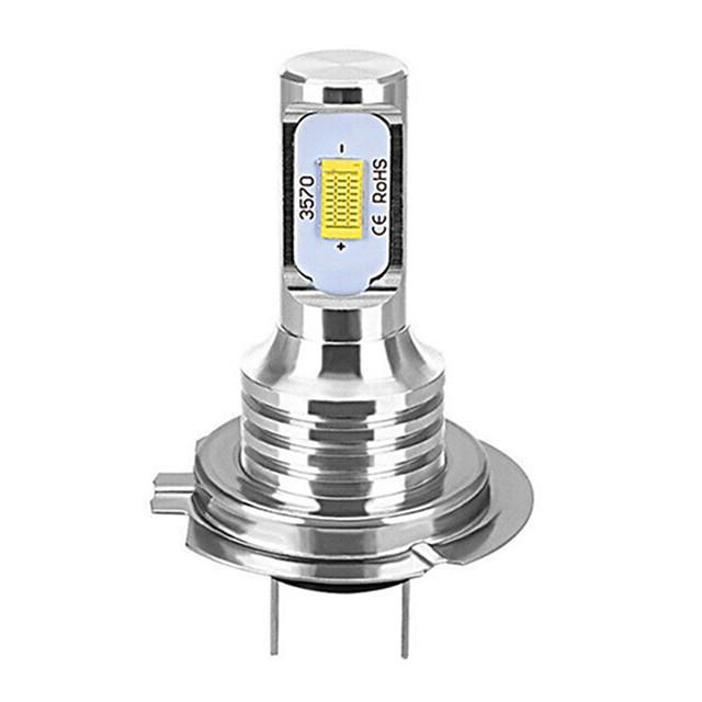 1 pcs H7 80 W Canbus LED Phares De Voiture Ampoules Auto Lumières Automobile Conduite Antibrouillard Lampe 2LEDS SMD 3570 CSP Antibrouillard