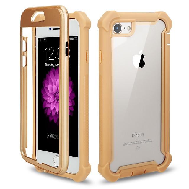 נרתיק עבור apple iphone 7 / iphone 6 plus / iphone 6 כיסוי אחורי למראה עור pu בצבע אחיד
