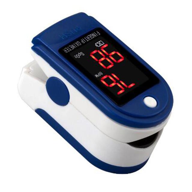 ujj pulzus oximéter zsákkal, szívverés 1 perc telítettséggel monitor pulzus pulzusszám vér oxigén ce jóváhagyása
