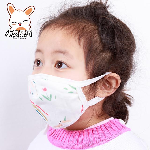 3 pcs vente chaude mignon kaomoji-kun masques faciaux mode hiver coton drôle auti-poussière anime émotiction kawaii demi-masque masque fournitures