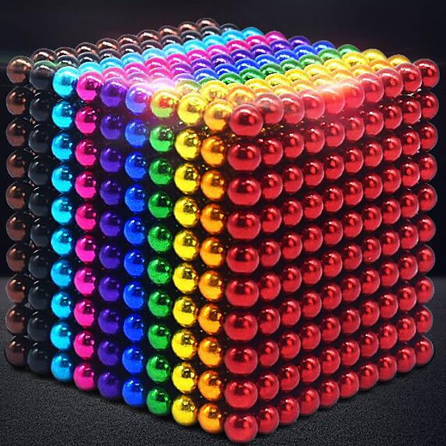 Sfere,palline magnetiche multicolore 5 mm 216 pcs Italia