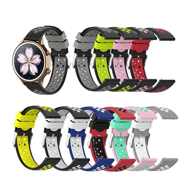 Bandă de ceas inteligent pentru TicWatch 1 pcs Banderolă Sport Catarama moderna Silicon Înlocuire Curea de Încheietură pentru TicWatch C2