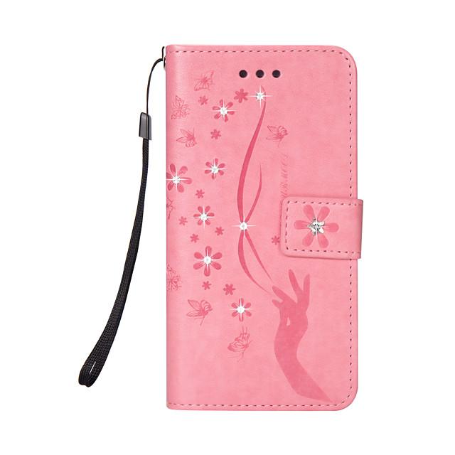غطاء من أجل Samsung Galaxy S8 Plus / S8 / S7 edge مع حامل غطاء كامل للجسم قرميدة جلد PU / TPU