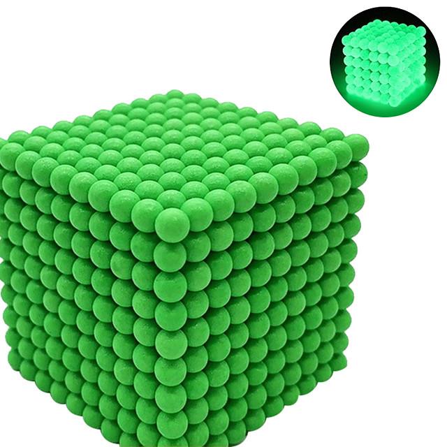 216-1000 pcs 3 mm Jouets Aimantés Jouet Magnétique Boules Magnétiques Aimants de terres rares super puissants Cube casse-tête Jouets Aimantés Aimant Néodyme Phosphorescent Soulagement de stress et