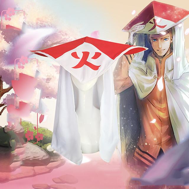Inspirerad av Naruto Naruto Uzumaki Animé Cosplay-kostymer Japanska Hatt / Mössa Hatt Till Herr Dam