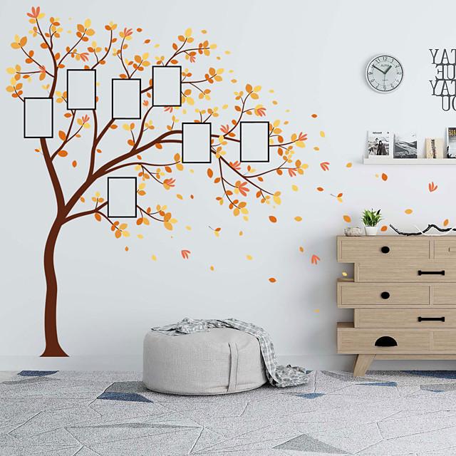 مناظر طبيعية / الأزهار / النباتية ملصقات الحائط لواصق حائط الطائرة لواصق حائط مزخرفة, PVC تصميم ديكور المنزل جدار مائي جدار زخرفة 1PC