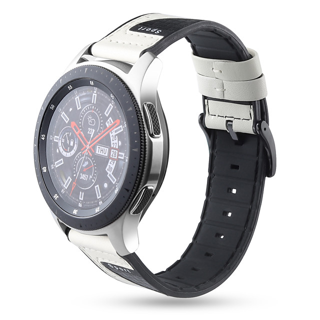 حزام إلى Samsung Galaxy Watch 46 / Samsung Galaxy Watch 42 / Samsung Galaxy Active Samsung Galaxy عصابة الرياضة سيليكون شريط المعصم