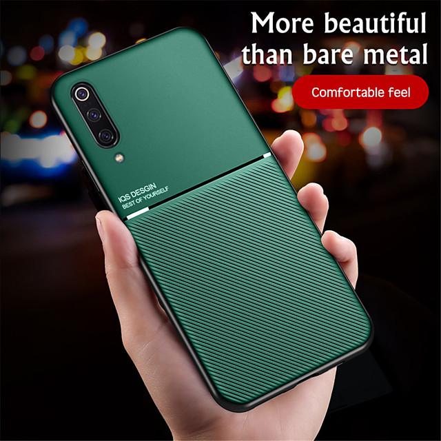 telefono Custodia Per Xiaomi Per retro Custodia in pelle Xiaomi Mi 10 Xiaomi Mi 10Pro Decorazioni in rilievo Con onde pelle sintetica TPU
