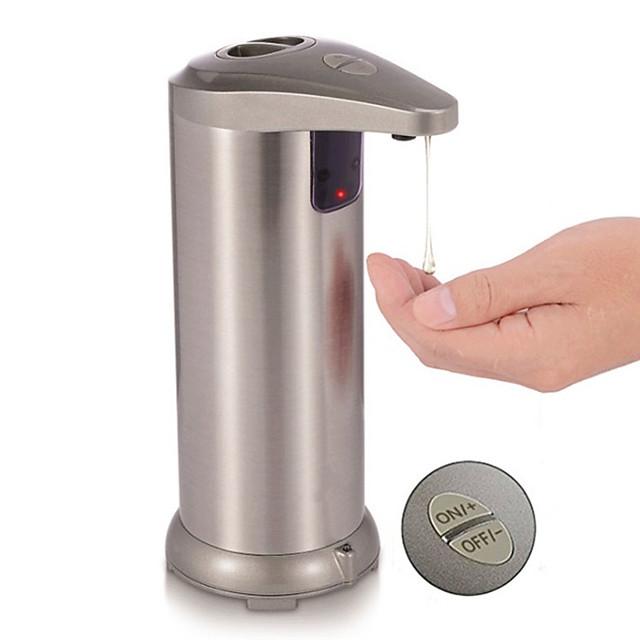250ml automatische dispenser voor vloeibare zeep desinfecterende slimme sensor contactloze keukenzeepfles badkamer kleur willekeurig