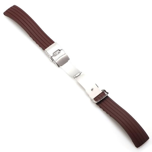 18mm 20mm 22mm 24mm silikonowy pasek składana klamra do zegarka Samsung Galaxy Gear S2 S3 Quick Release Rubber Rubber bransoletka pasek zespół