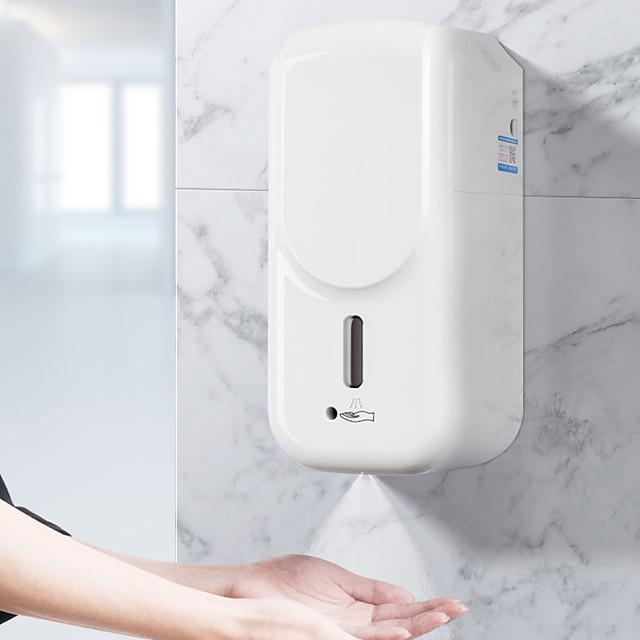 contactloze automatische vloeistofdispensermachine hoog volume 1000ml automatische inductiemachine, aanraakvrije wanddispenser oplaadbare batterij opgeladen vloeibare nevel spray willekeurige