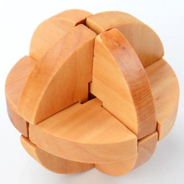 Puzzle Puzzle Lemn Jocuri IQ Inimă nivel profesional Viteză De lemn Clasic & Fără Vârstă Băieți Jucarii Cadou / 14 ani +
