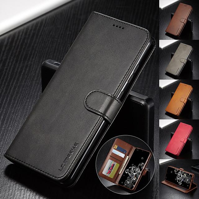 Роскошный кожаный флип-кошелек для samsung galaxy a50 a81 a01 a51 a71 a91 a41 a21 a11 a90 a90 a80 a70 e a60 a50 a40 a30 a20 a20 a10 крышка подставки для магнитной карты